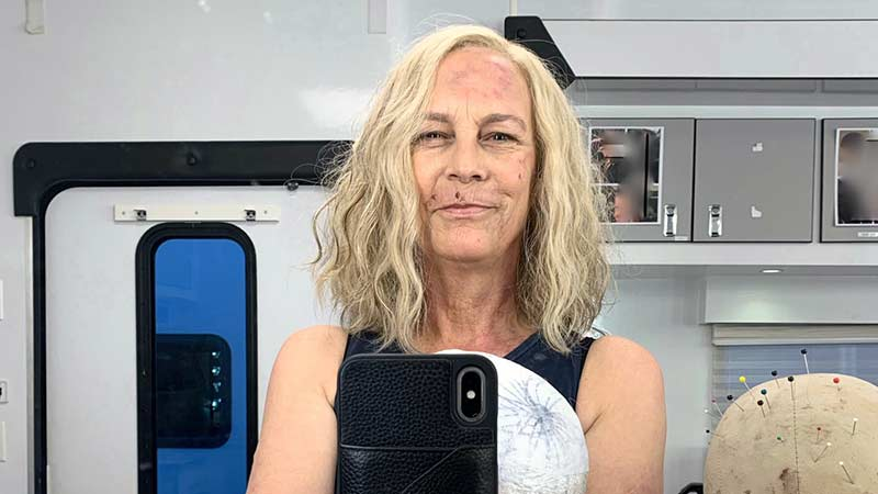Jamie Lee Curtis Shares BTS Photo from Her First Day on Halloween Kills