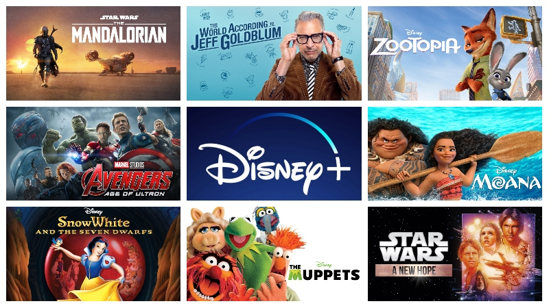 Complete List of Disney Plus Launch Titles Revealed!