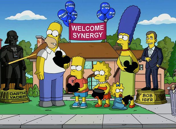 The Simpsons Dressed Up as Disney Characters in New Disney+ Teaser