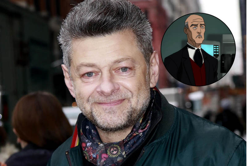 Andy Serkis Confirmed as Alfred in The Batman!