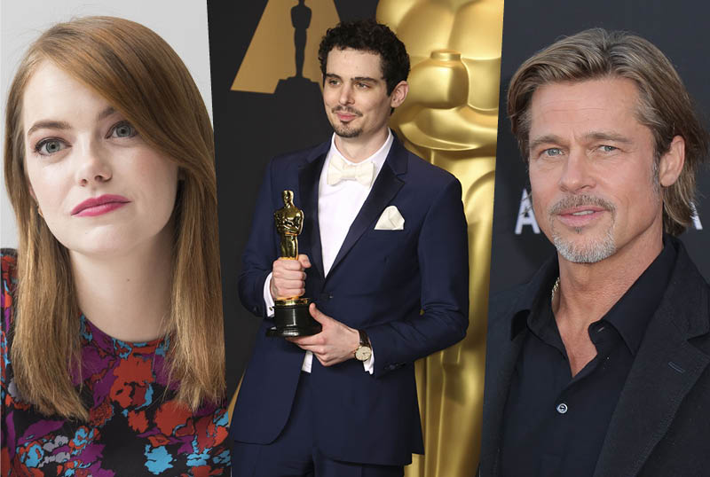 Paramount Acquires Damien Chazelle's Babylon with Emma Stone & Brad Pitt