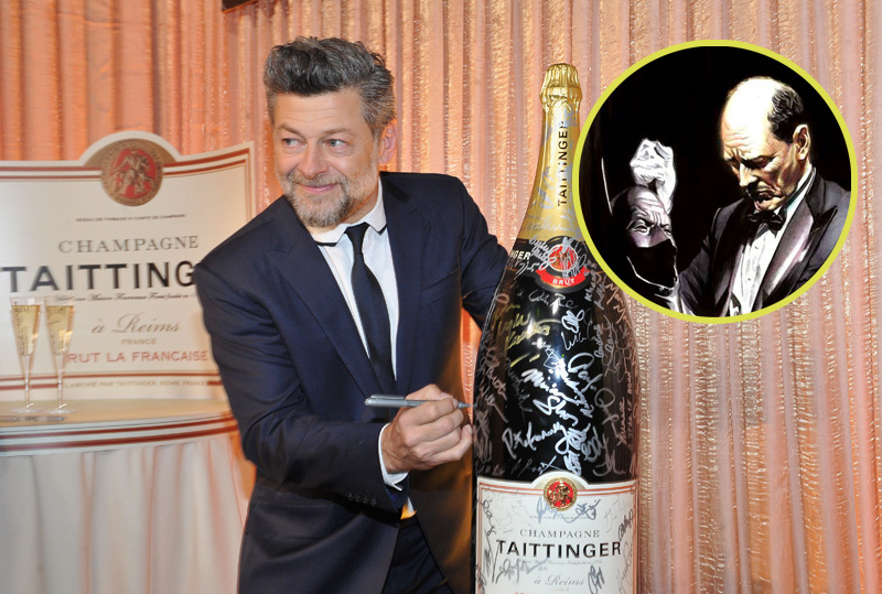 BREAKING: Andy Serkis in Talks to Play Alfred Pennyworth in The Batman!