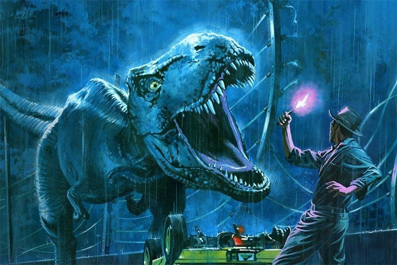 Exclusive: Silent Running & Jurassic Park Prints from Vice Press