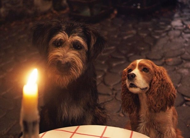 Lady And The Tramp Clips Tease The Iconic Spaghetti Scene