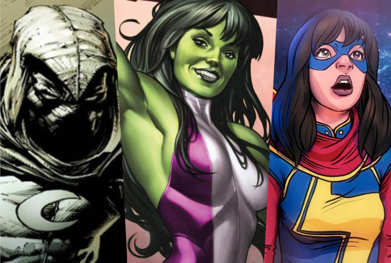 Kevin Feige Confirms Ms. Marvel, Moon Knight & She-Hulk Big Screen Appearances
