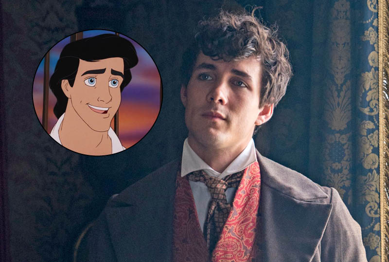 Live-Action Little Mermaid Casts Jonah Hauer-King as Prince Eric