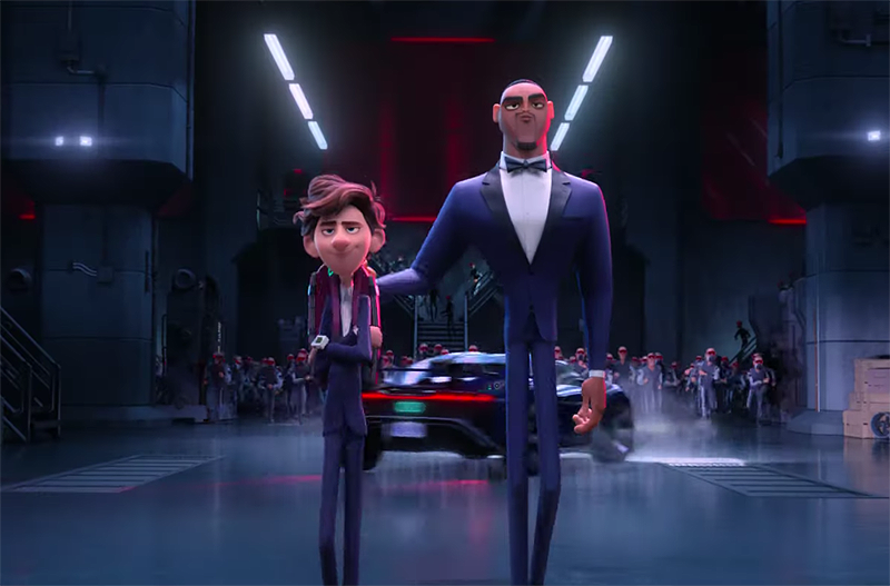 New Spies in Disguise Trailer Features Single Then There Were Two