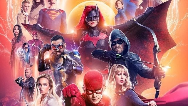 It's the End of the Multiverse in The CW's Crisis on Infinite Earths Poster