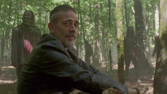 Negan Chats With Beta in New The Walking Dead Episode 10.06 Clip
