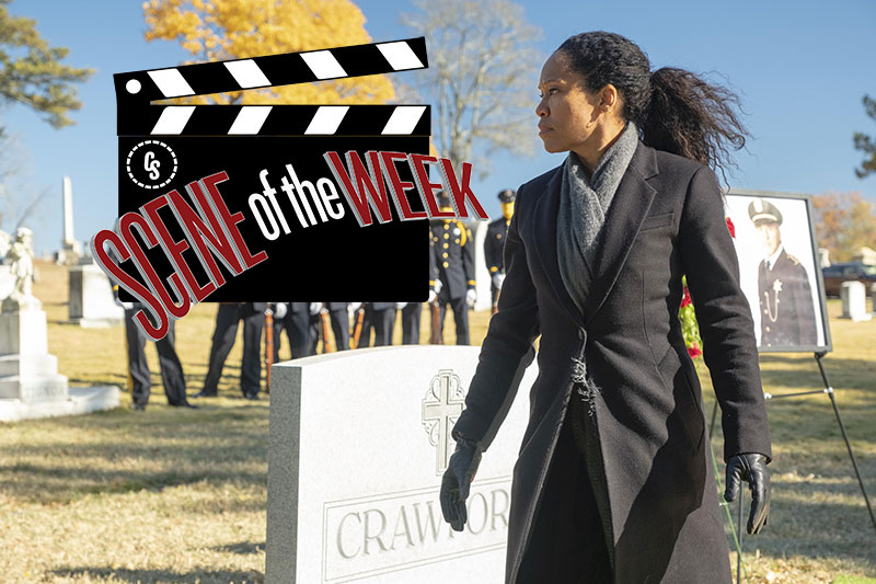 CS Scene of the Week: Watchmen's Sister Knight vs. Agent Laurie Blake