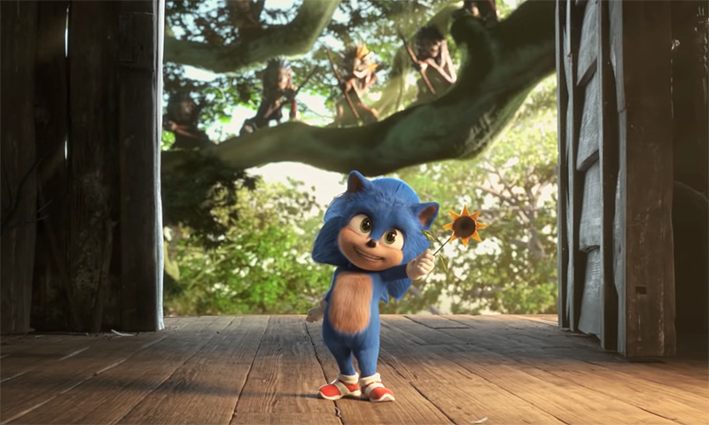 Baby Sonic Goes Fast in Japanese Sonic the Hedgehog Trailer