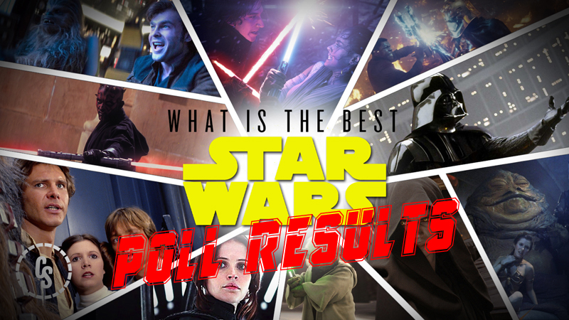 POLL RESULTS: What's the Best Star Wars Movie?