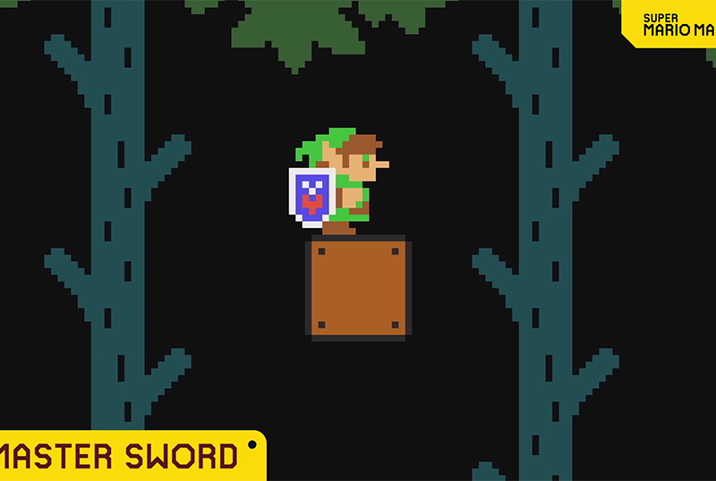 Link Heads to Super Mario Maker 2 in New Update!