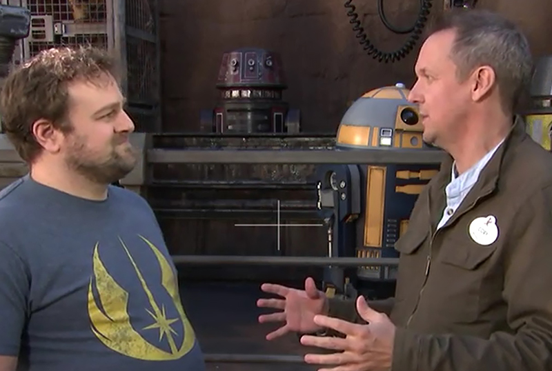 CS Video: Creative Director Cory Rouse on Star Wars: Rise of the Resistance
