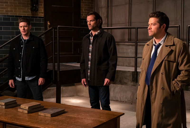 Supernatural 15.08 Promo & Photos: Our Father, Who Aren't in Heaven