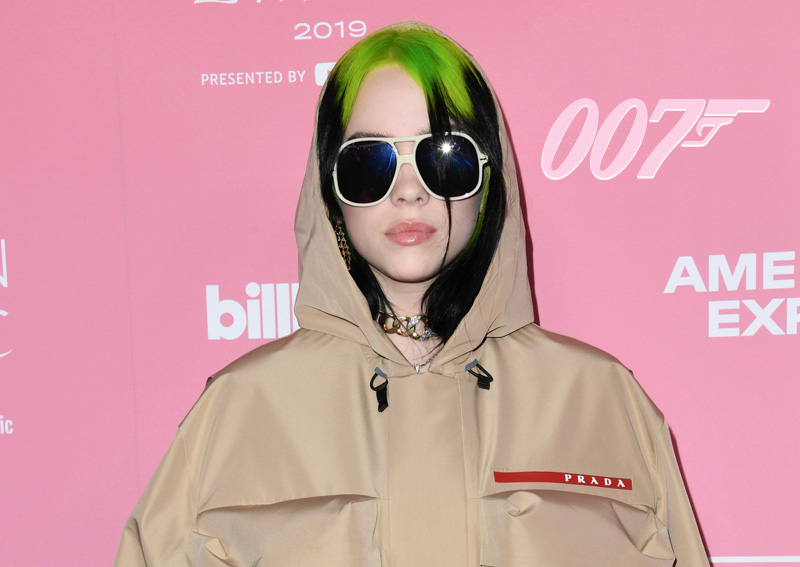 UPDATE: Billie Eilish to Perform No Time to Die Theme Song!