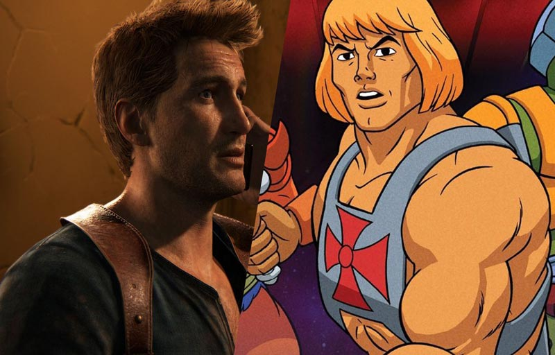 Uncharted Movie Pushed Back, Masters of the Universe Undated
