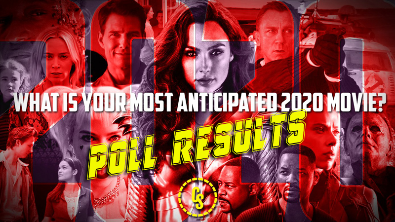 POLL RESULTS: What's the Most Anticipated Film of 2020?