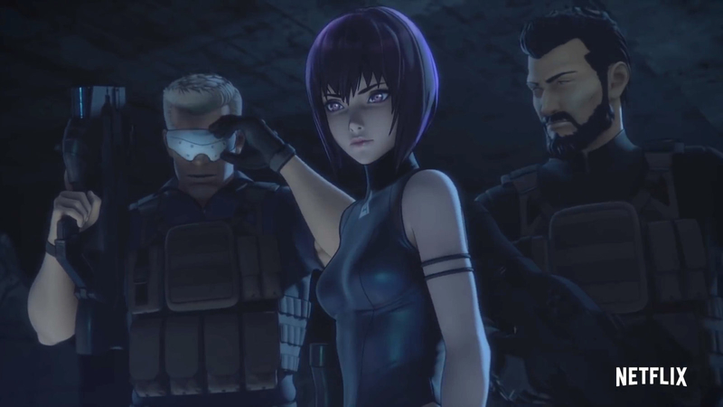 Ghost in the Shell: SAC_2045 Trailer Previews Netflix's New Anime Series