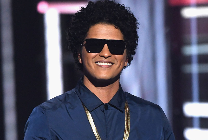 Bruno Mars to Star in Disney's New Music-Themed Movie