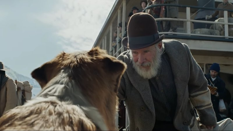 Harrison Ford Meets Buck in New The Call of the Wild Clip