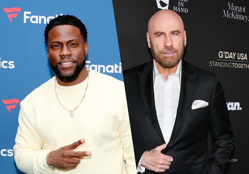 Die Hart: Kevin Hart and John Travolta to Star in New Quibi Series