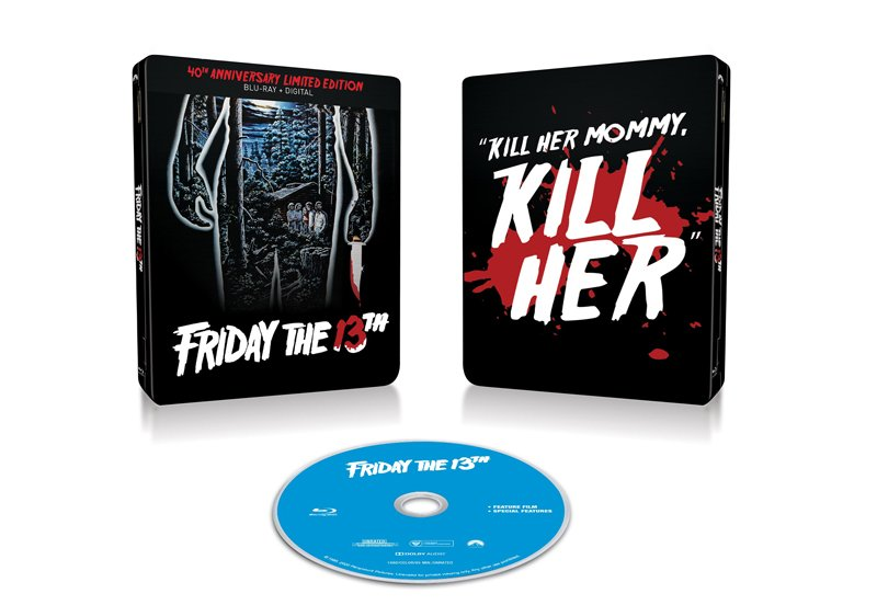 Friday the 13th Getting 40th Anniversary Blu-ray Steelbook!