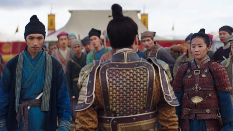 Mulan Clip and TV Spot Feature Donnie Yen's Commander Tung