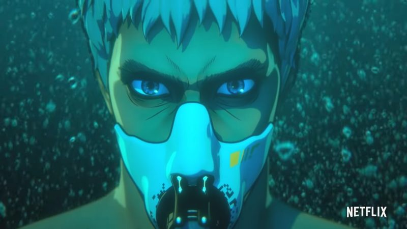 Altered Carbon: Resleeved Trailer Previews Netflix's New Anime Series