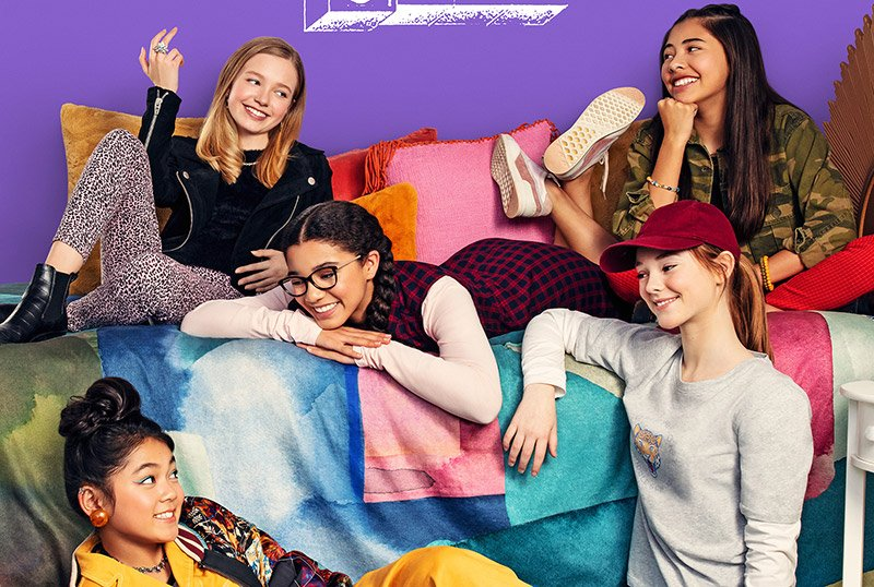The Baby-Sitters Club Key Art and Cast Revealed for Netflix Series