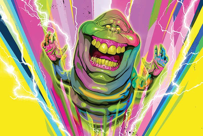 Exclusive Spreads for Insight Editions' Ghostbusters: Artbook