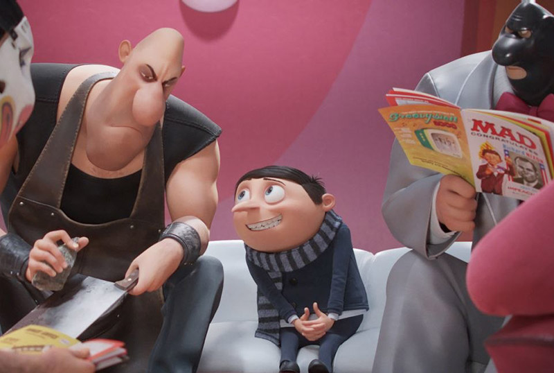 Illumination's Minions: The Rise of Gru Release Date Pulled
