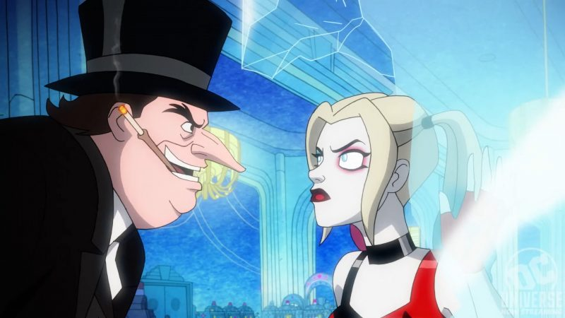 Harley Quinn Fights Off Penguin in Season 2 First-Look