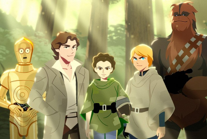 New Star Wars: Galaxy of Adventures Honors Leia Organa's Legacy