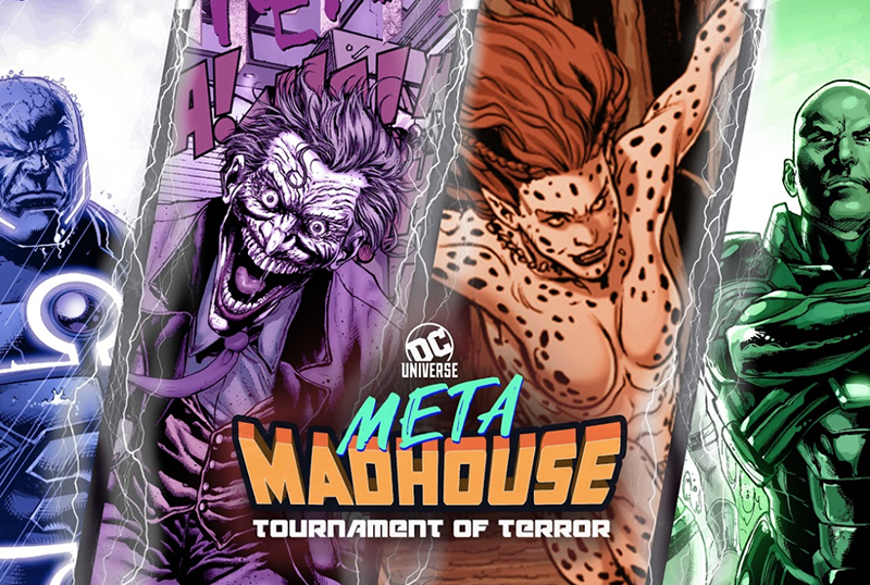 DC Universe Announces Return of Meta Madhouse with Tournament of Terror!