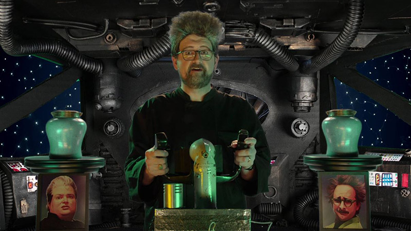 Chat Along With MST3K Legend J. Elvis Weinstein on Twitch Today!