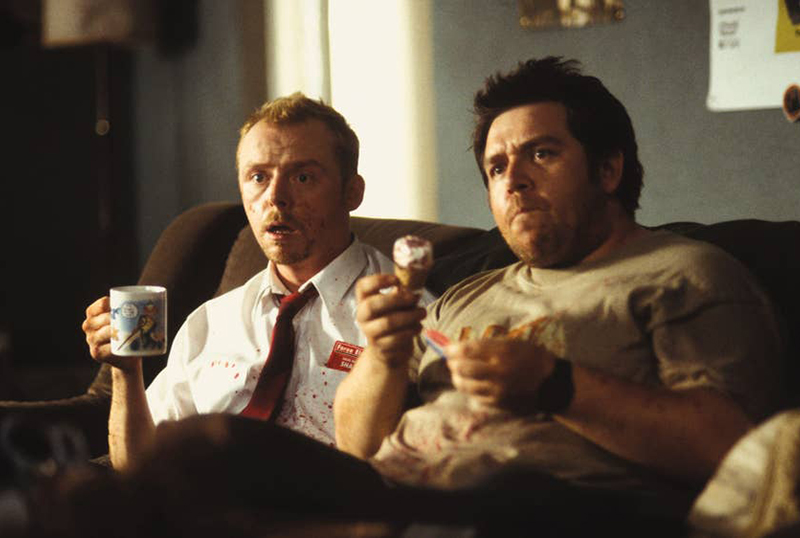 Simon Pegg & Nick Frost Have A Social Distancing Plan
