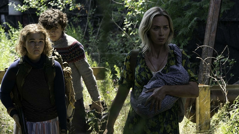 Emily Blunt Sets Off a Trap in A Quiet Place: Part II Clip