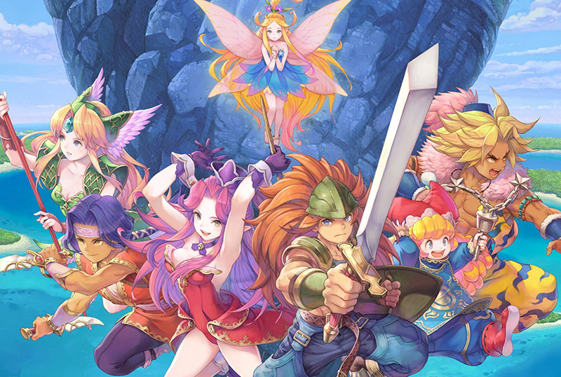 Trials of Mana Playable Demo Available Now, Trailer Released