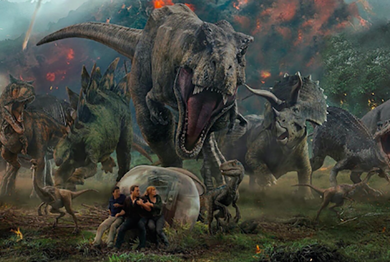 Universal Halting Multiple Productions, Including Jurassic World: Dominion