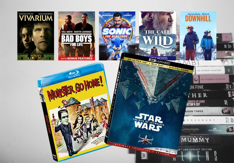 March 31 Blu-ray, Digital and DVD Releases