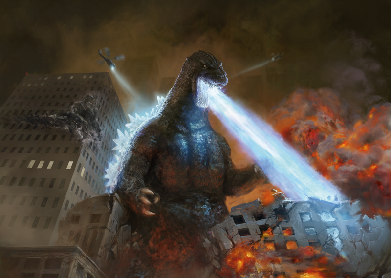 Godzilla Monsters Coming to Magic: The Gathering