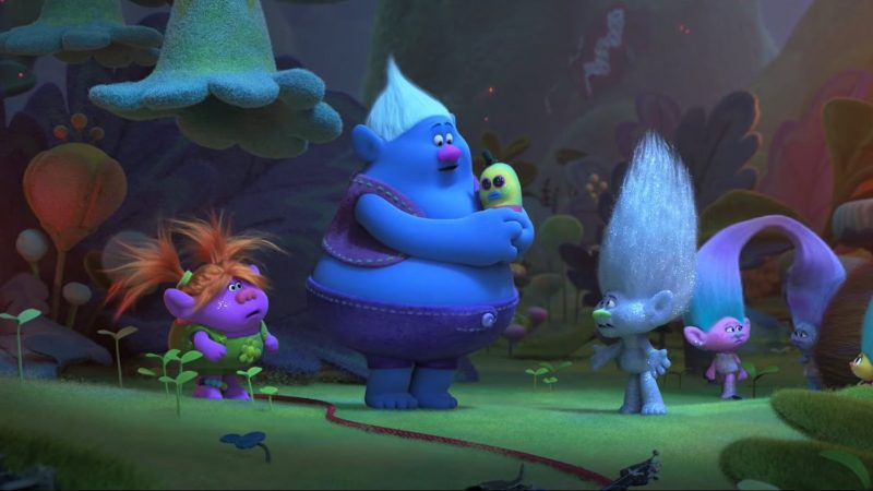 New Trolls World Tour Clips: Biggie Tries to Save Queen Poppy