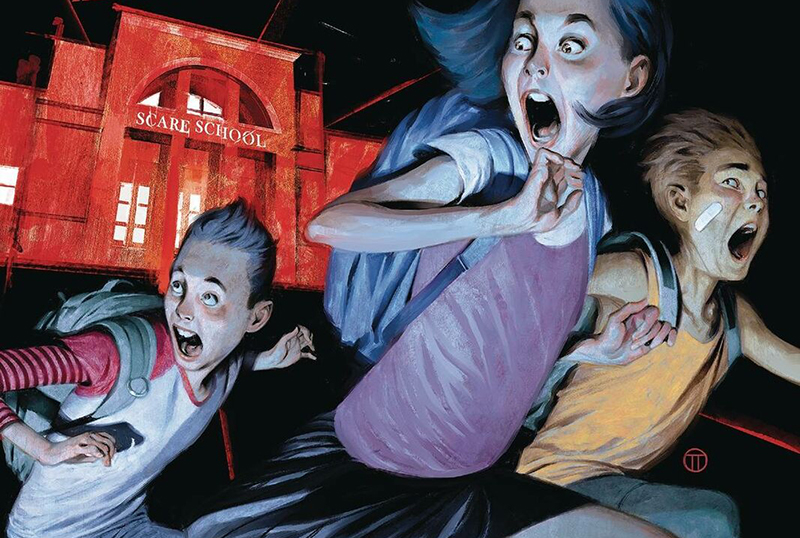 Disney+ Greenlights Just Beyond Series Adaptation of R.L. Stine Graphic Novels