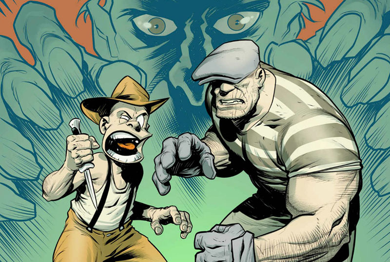 Jeff Fowler & Tim Miller's The Goon Movie Update & Storyboard Reveal