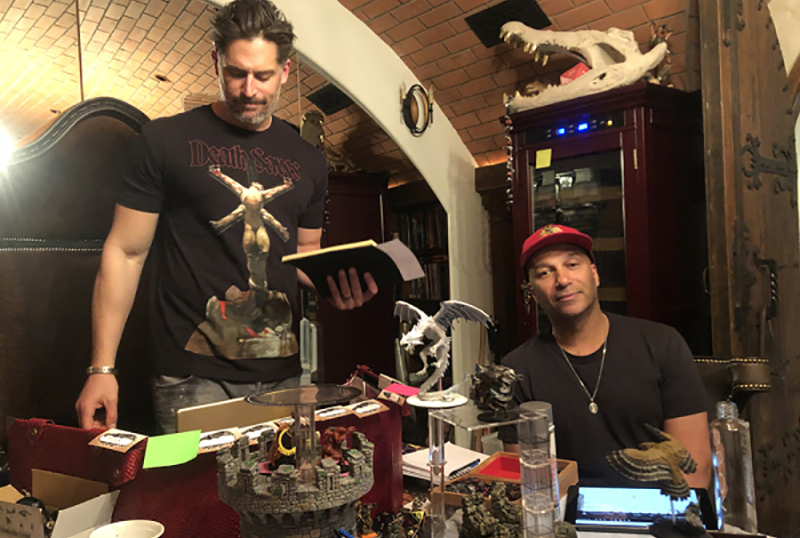 Behind The Scenes of Joe Manganiello's Dungeons & Dragons Campaigns