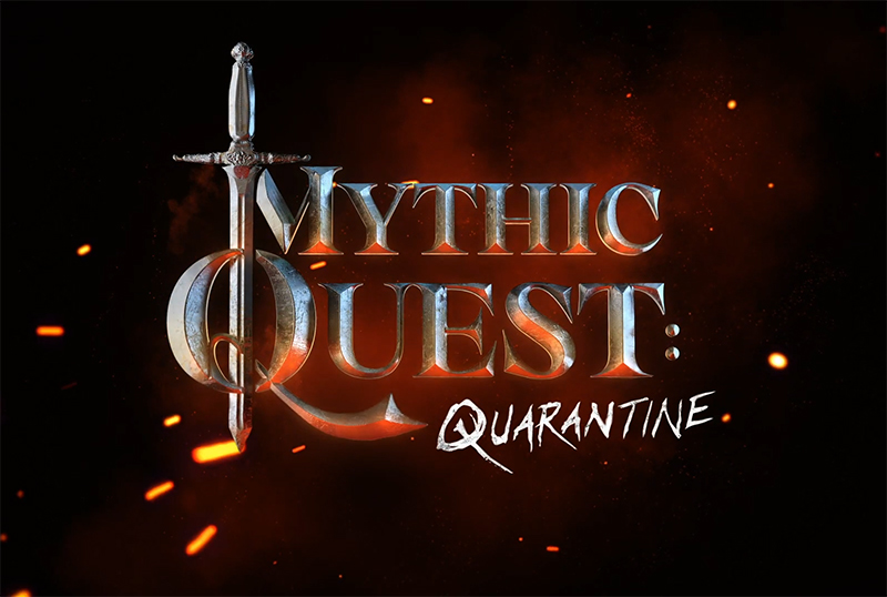 Mythic Quest: Raven's Banquet Quarantine Special Set for May 22