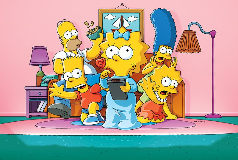Original Aspect Ratio Returning to The Simpsons on Disney+ This Month!