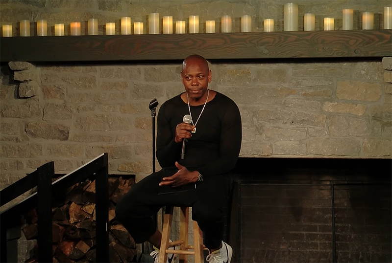Dave Chappelle Drops Surprise New Special 8:46 on Netflix's YouTube