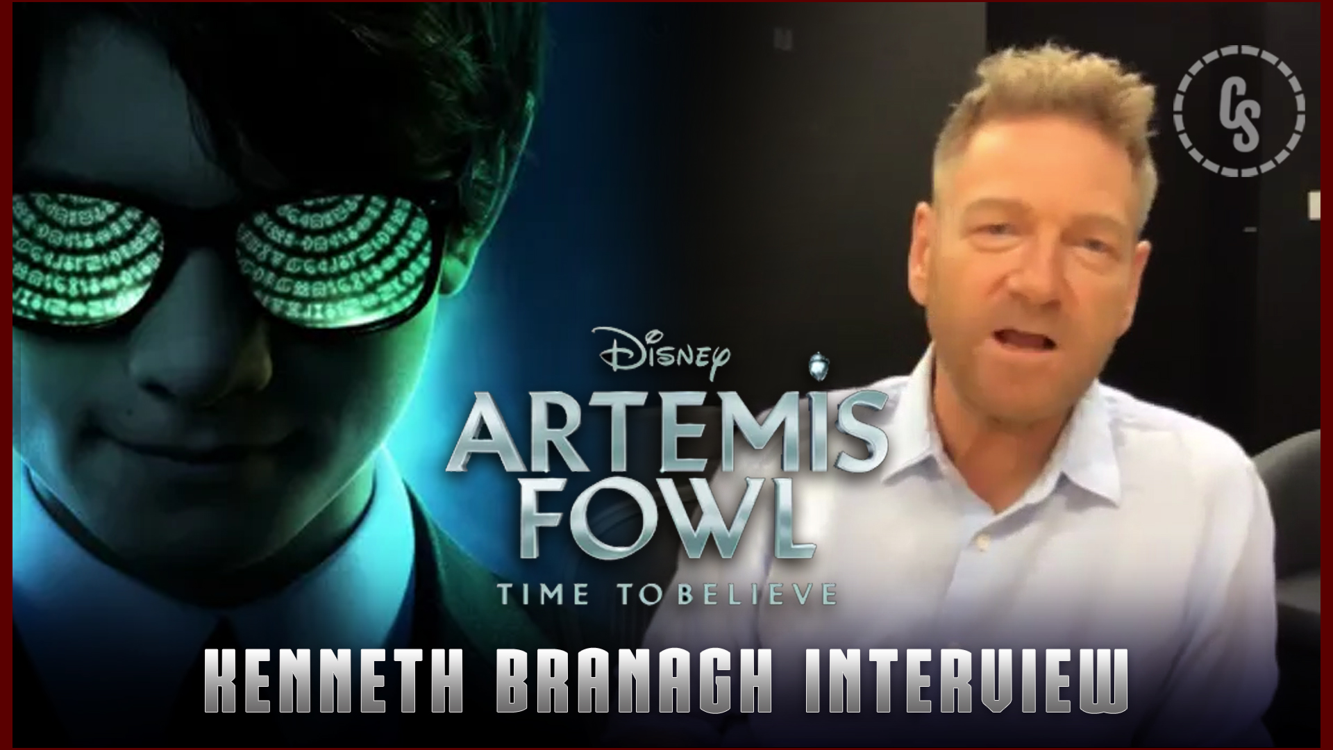 CS Video: Kenneth Branagh on Artemis Fowl, Sequels, Deleted Scenes & More!